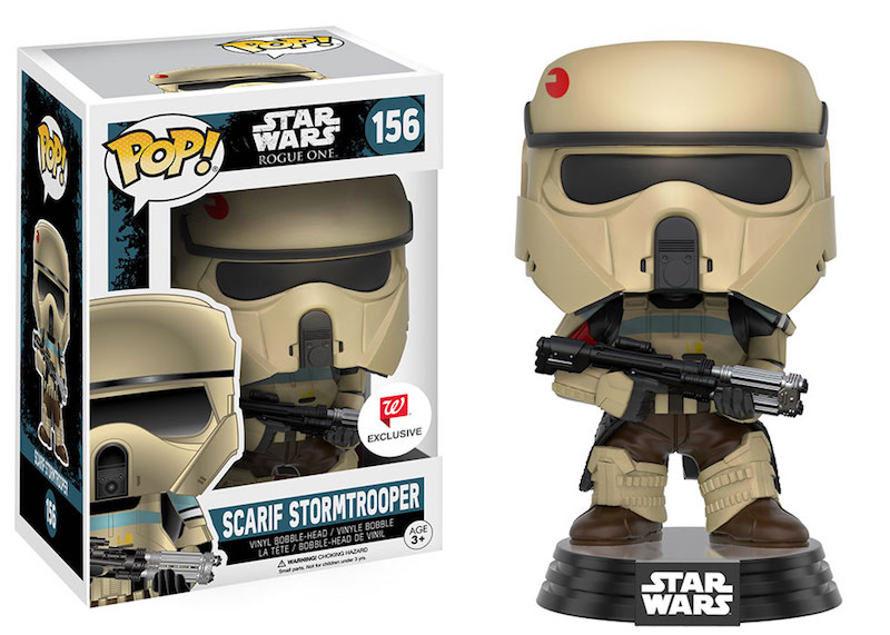 Funko Rogue One A Star Wars Story POP 156 Scarif Stormtrooper