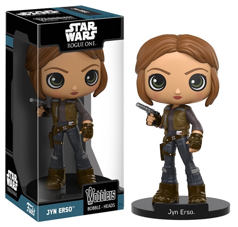 Funko Rogue One A Star Wars Story Wobblers Jyn Erso
