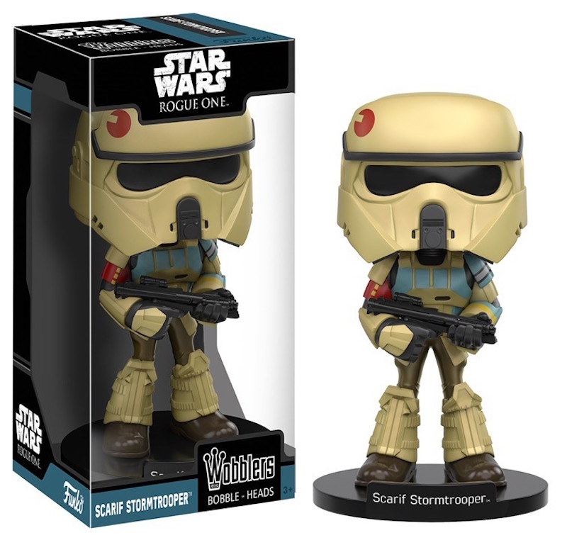 Funko Rogue One A Star Wars Story Wobblers Scarif Stormtrooper