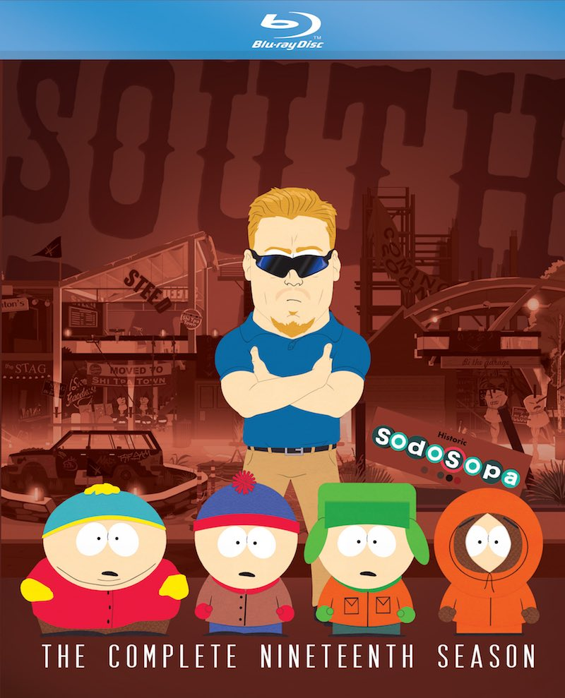 South Park The Complete Nineteenth Season cover