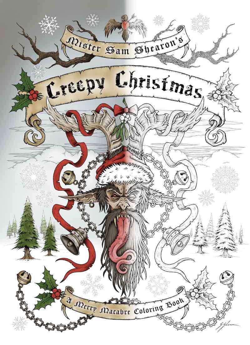 sam-shearon-mister-sam-shearons-creepy-christmas-a-merry-macabre-coloring-book-cover