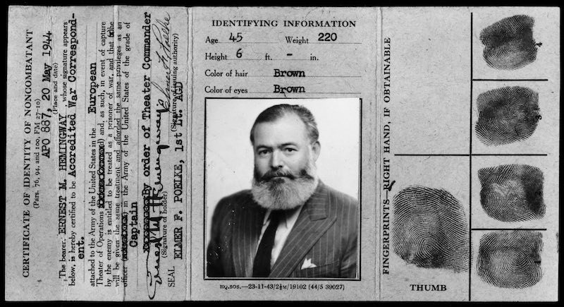 Nicholas Reynolds Writer, Sailor, Soldier, Spy Ernest Hemingway's Secret Adventures, 1935-1961