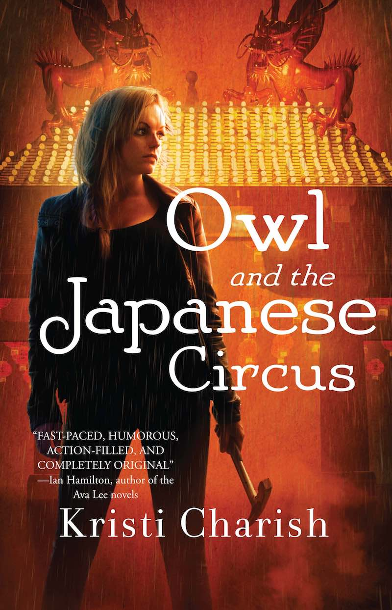 Kristi Charish Owl And The Japanese Circsu Own And The City Of Angels Owl And The Electric Samurai
