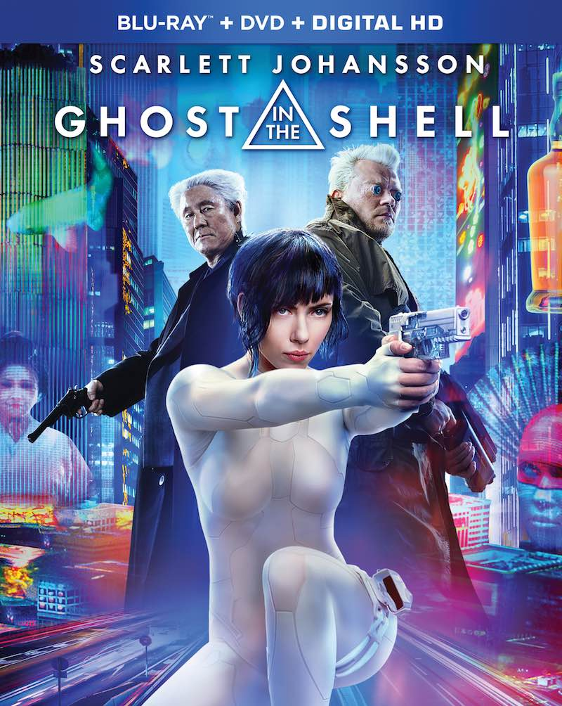 Ghost In The Shell Blu-ray DVD