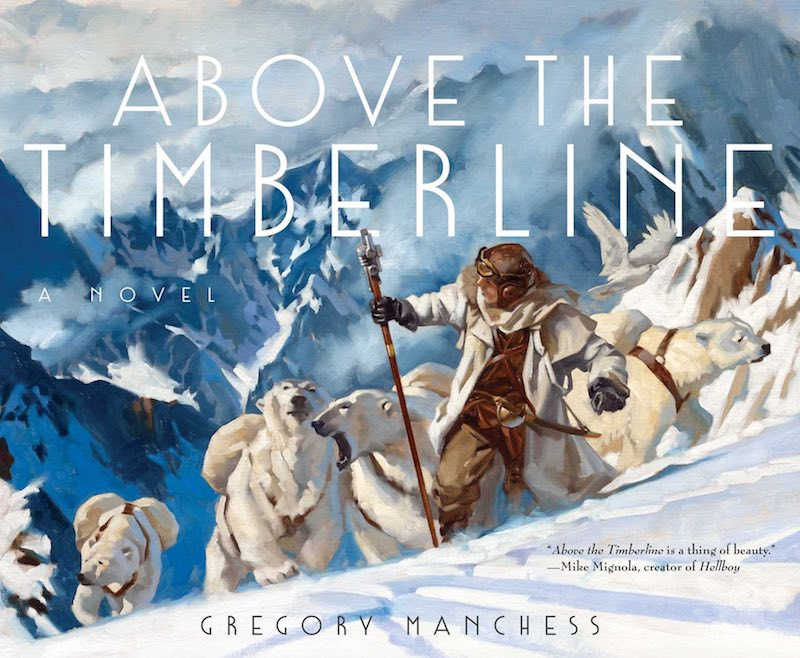 Gregory Manchess Above The Timberline