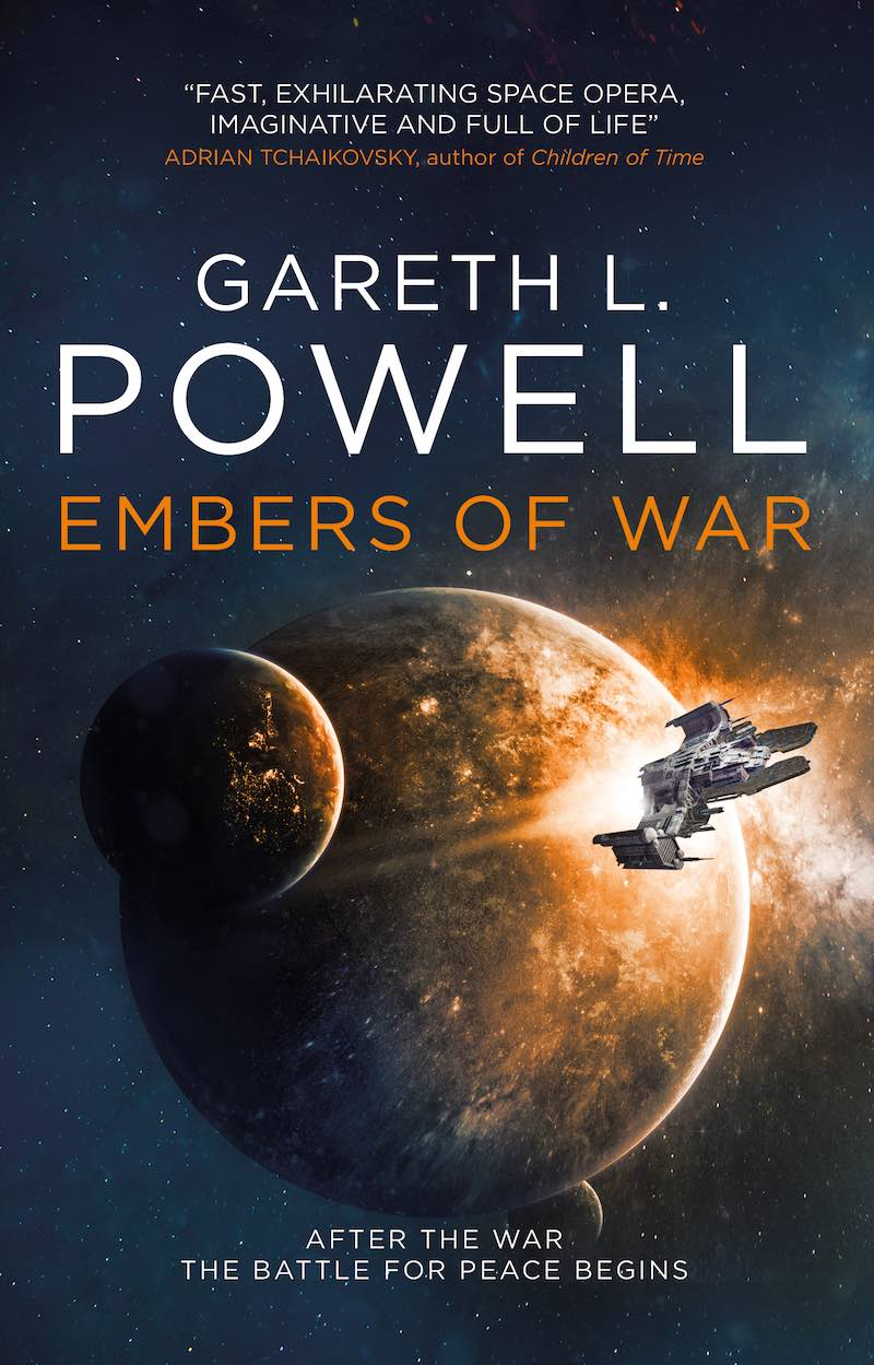 Gareth L Powell Embers Of War