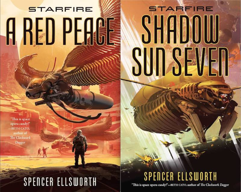 Spencer Ellsworth Starfire A Red Peace Shadow Sun Seven Memorys Blade