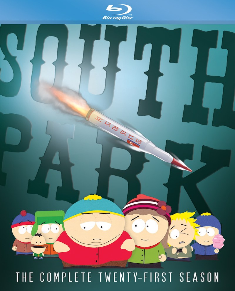 South Park The Complete Twenty-First Season Blu-ray DVD