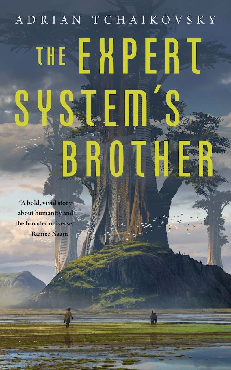Adrian Tchaikovsky The Expert System's Brother