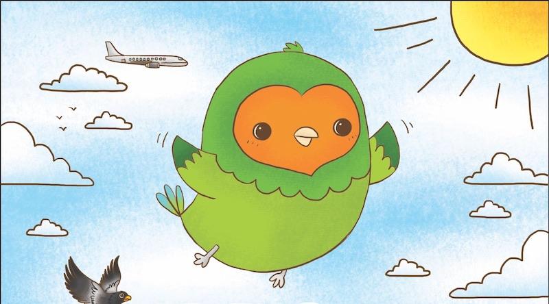 Remi Nicole Peck A Lonely Little Lovebird Down Under Peck A Little Lovebird Takes Flight