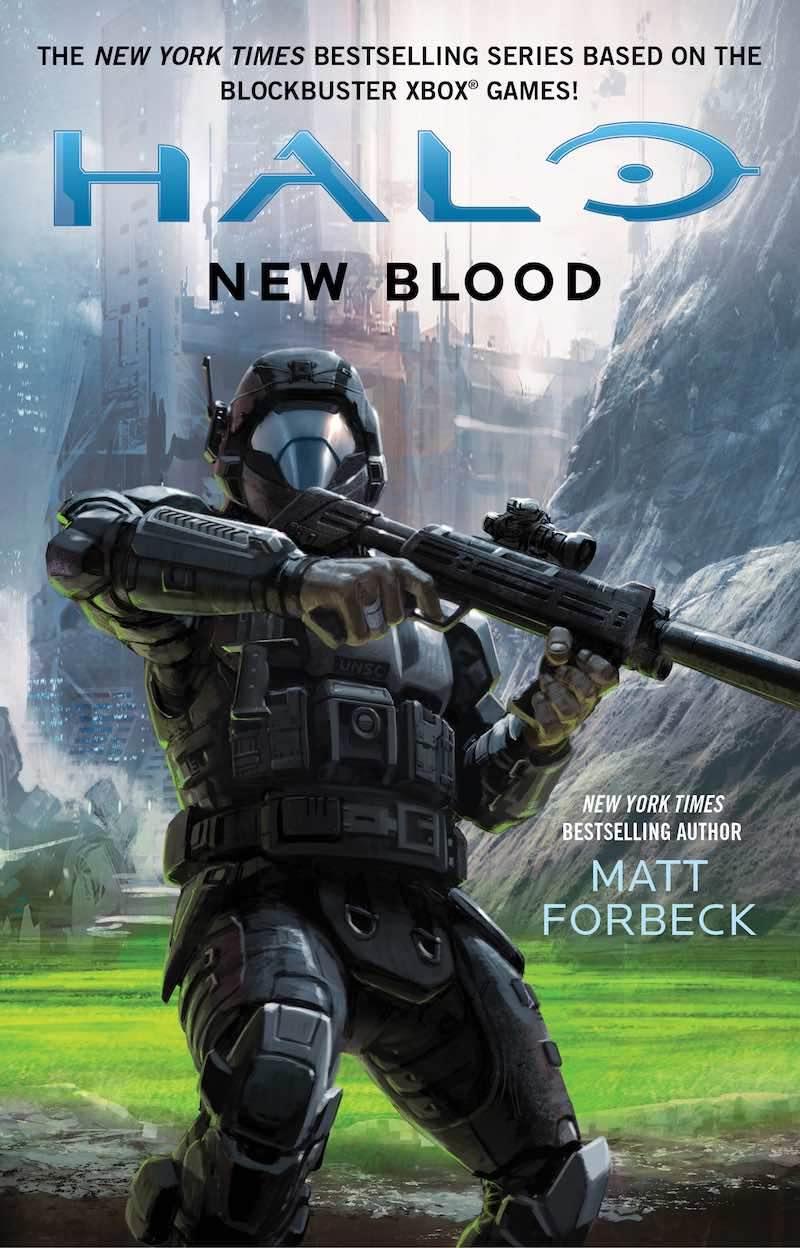 Matt Forbeck Halo Bad Blood New Blood