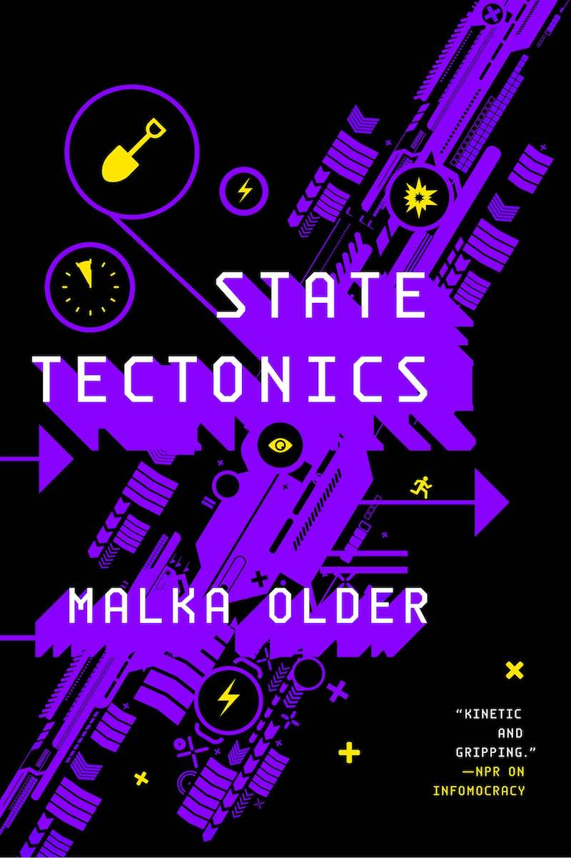 Malka Older The Centenal Cycle Infomocracy Null States State Tectonics