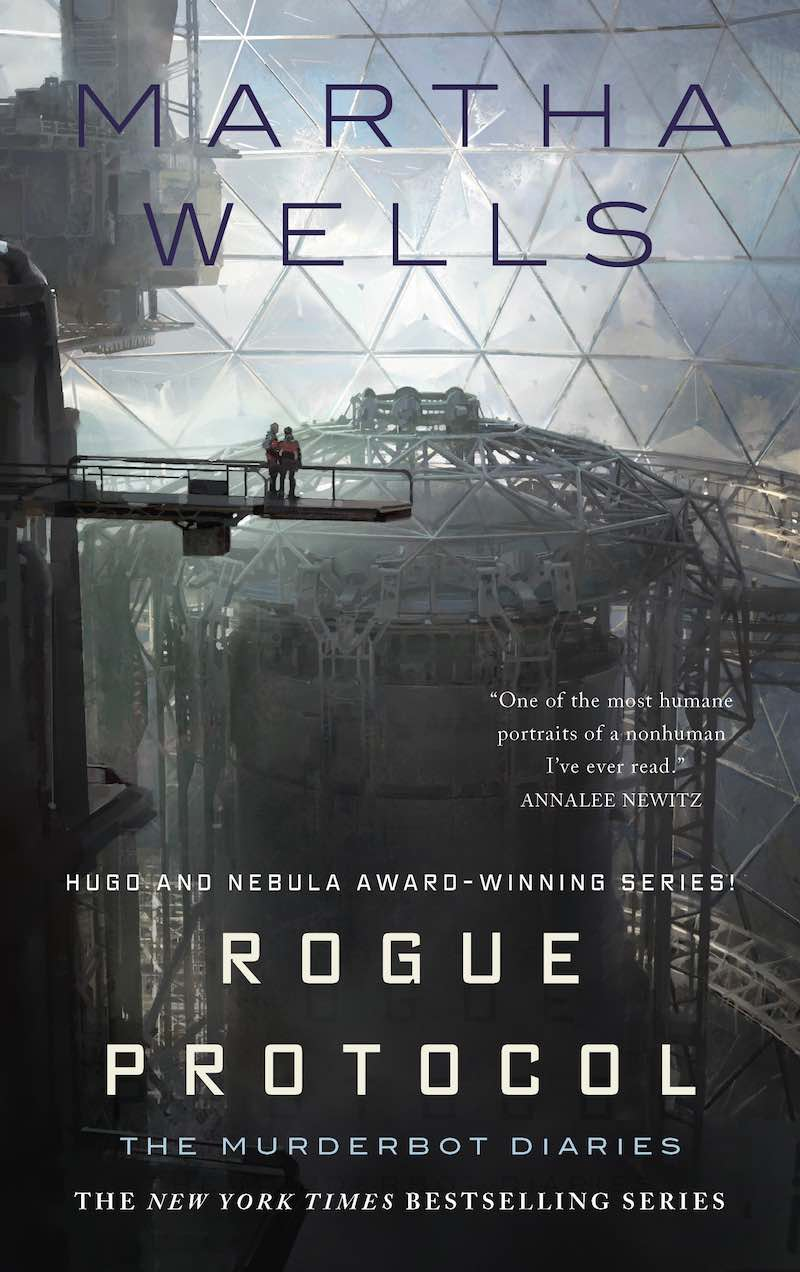 Martha Wells The Murderbot Diaries All Systems Red Artificial Condition Rogue Protocol Exit Strategy