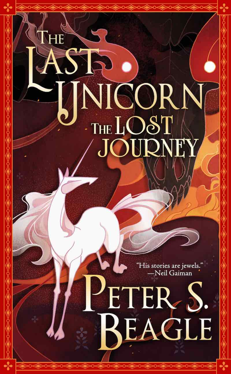 Peter S. Beagle The Last Unicorn The Lost Journey