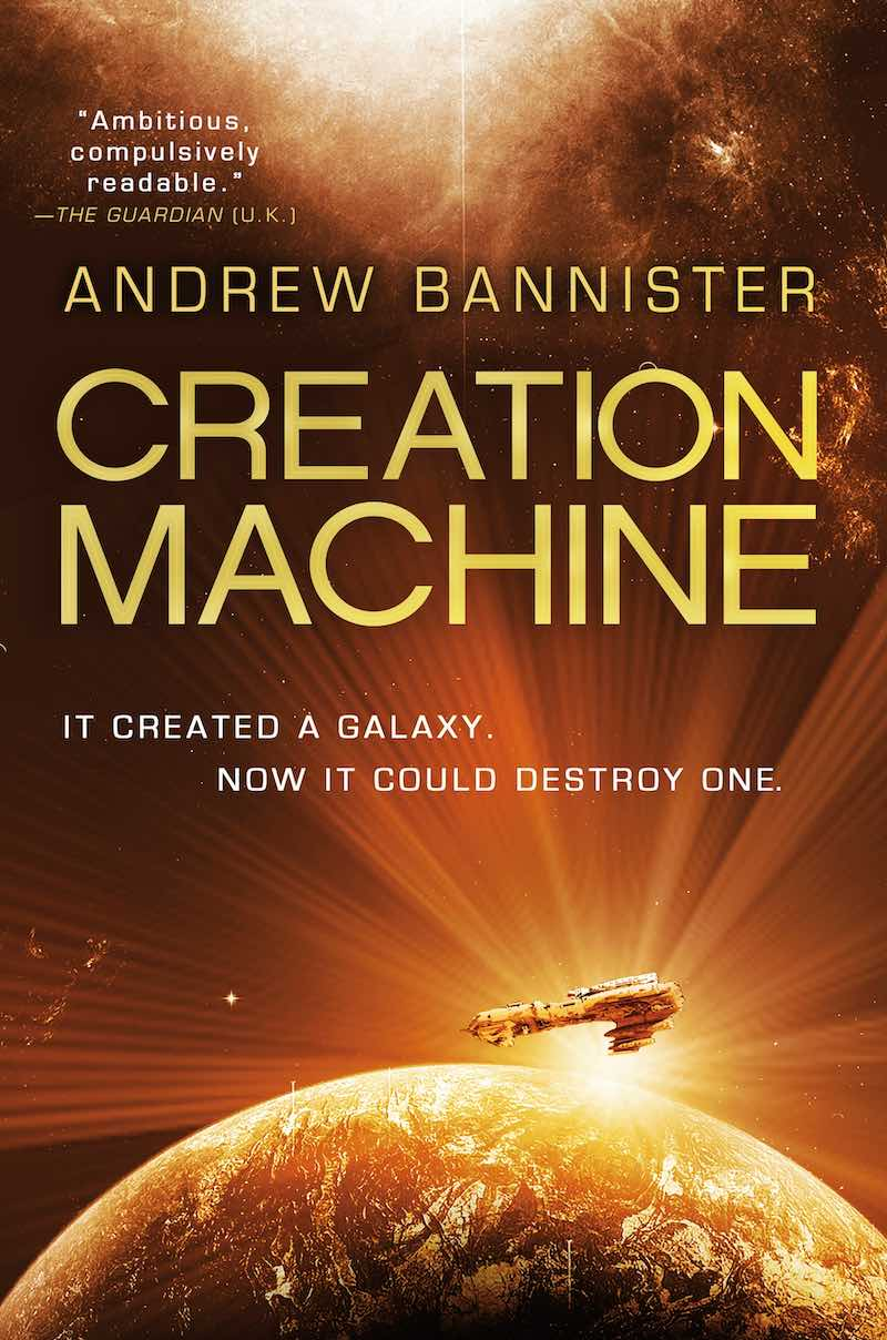 Andrew Bannister The Spin Creation Machine
