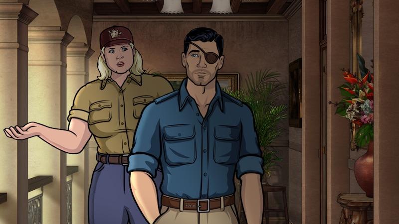 Archer Danger Island The Complete Season Nine DVD