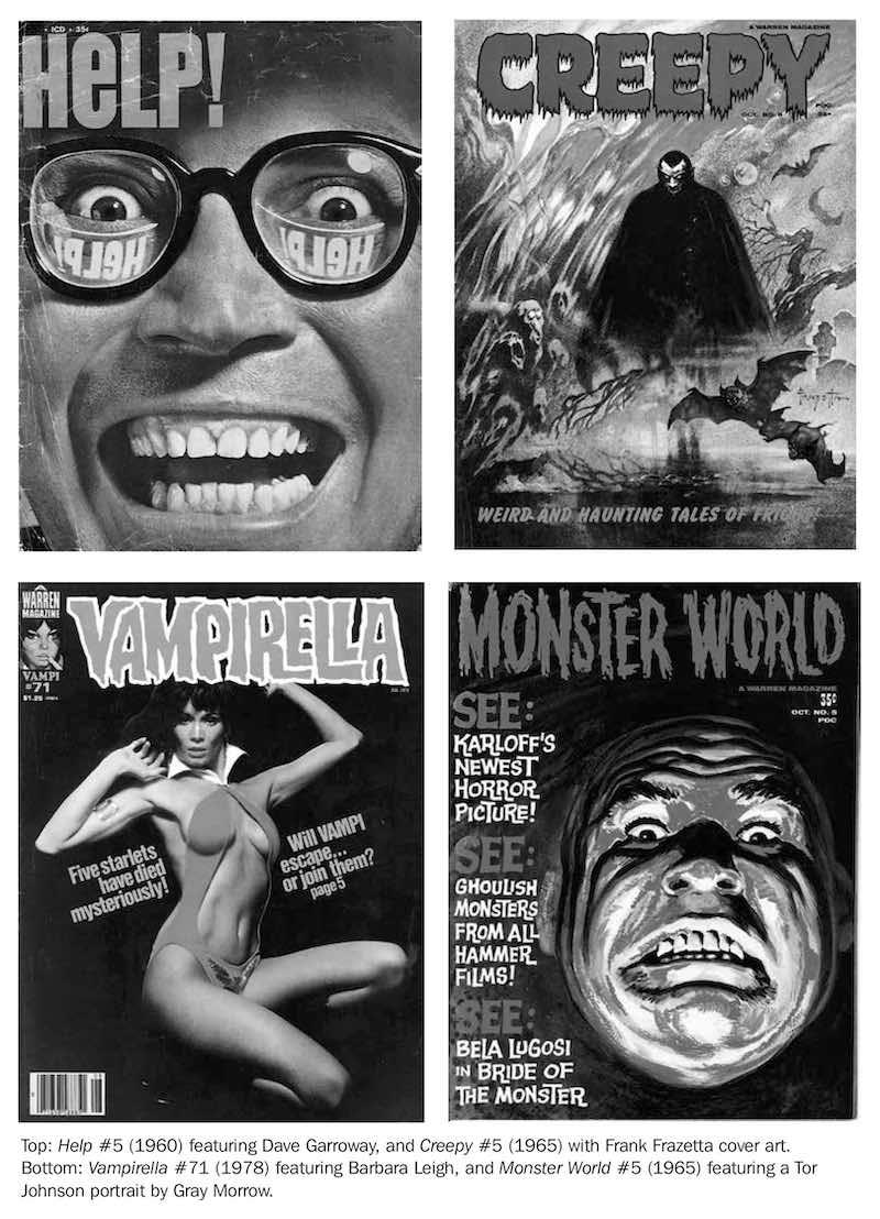 Bill Schelly James Warren Empire Of Monsters