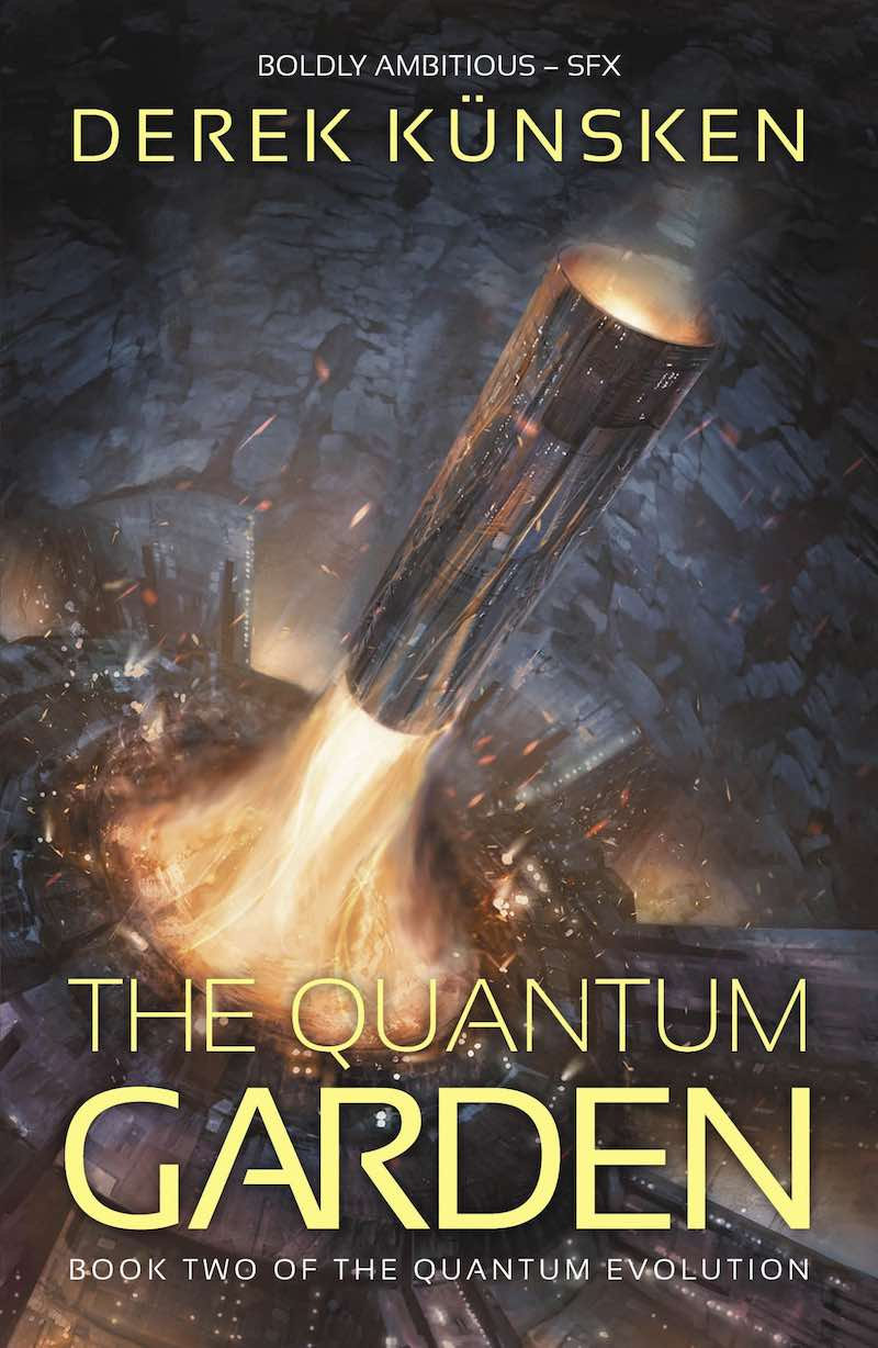 Derek Kunsken The Quantum Garden The Quantum Evolution The Quantum Magician