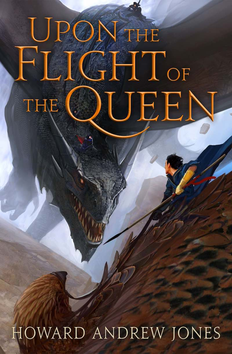 Howard Andrew Jones Upon The Flight Of The Queen Ring-Sworn Trilogy For The Killing Of Kings