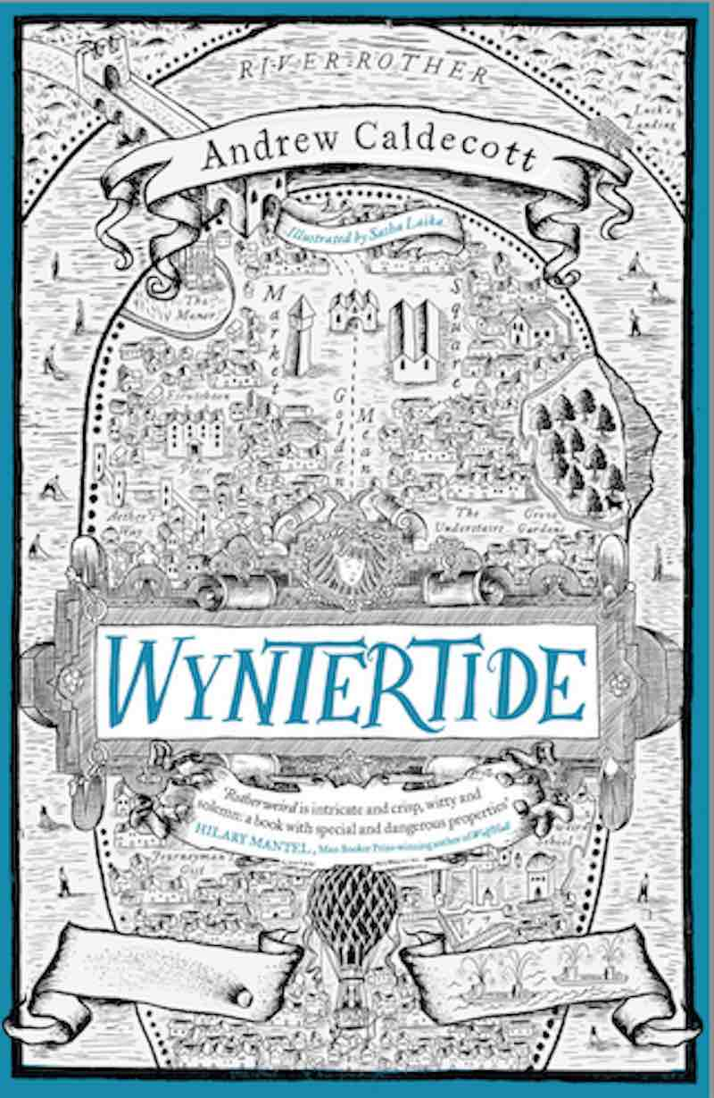 Andrew Caldecott Wyntertide Rotherweird Lost Acre
