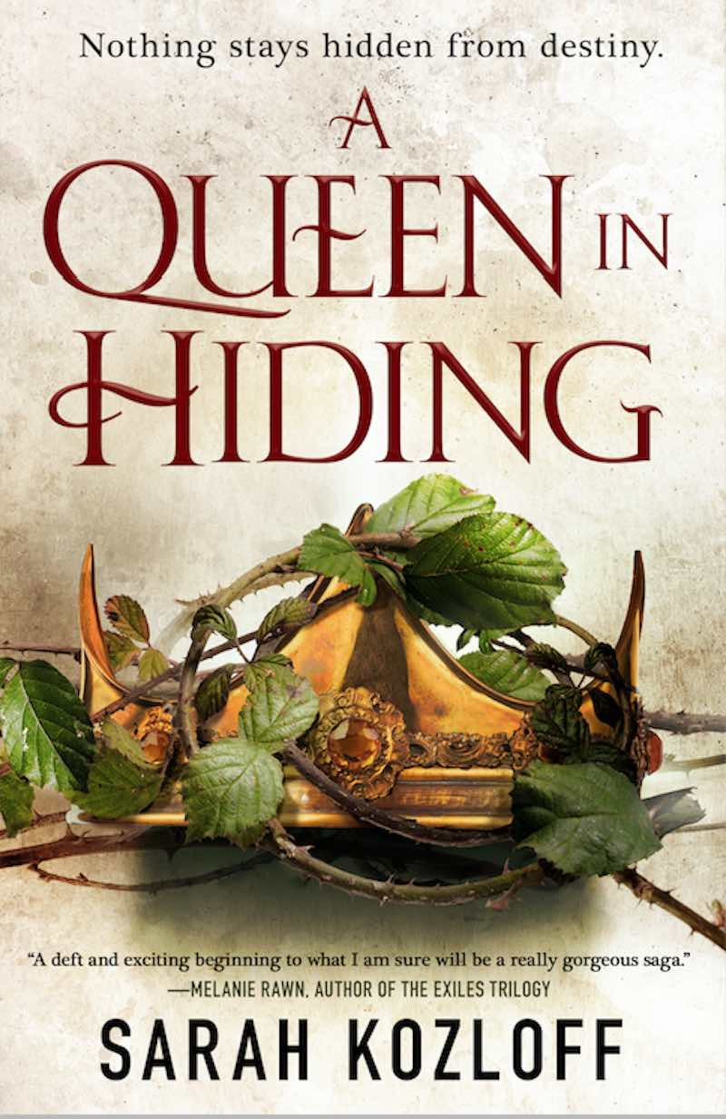 Sarah Kozloff A Queen In Hiding Nine Realms The Cerulean Queen