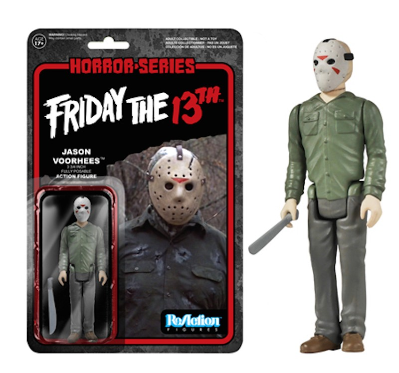 Jason Voorhees Friday The 13th Reaction Funko
