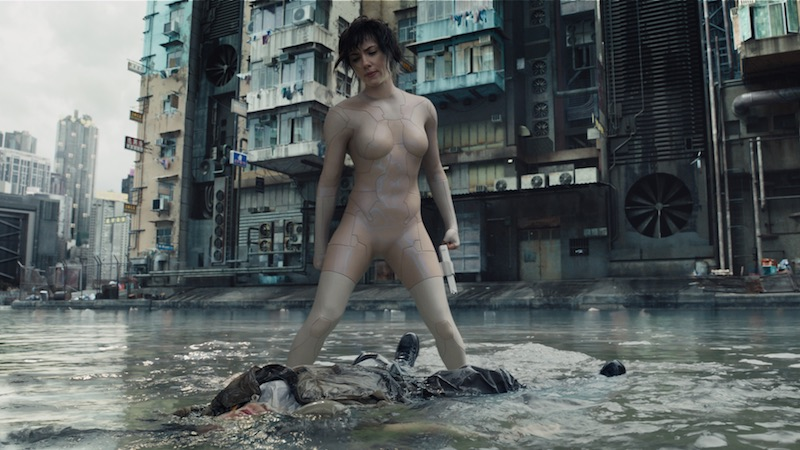 Ghost In The Shell Scarlett Johansson