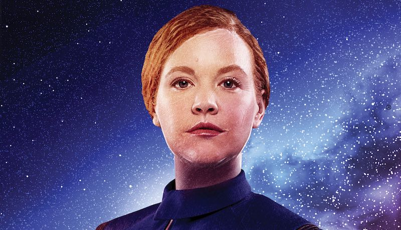 Una McCormack Star Trek Discovery The Way To The Stars